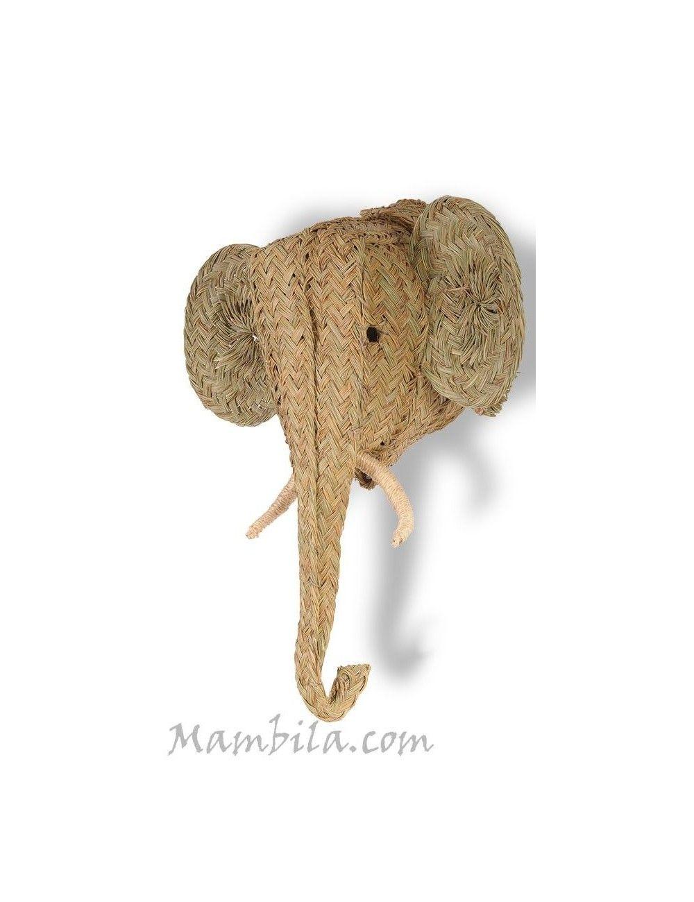 cabeza esparto elefante