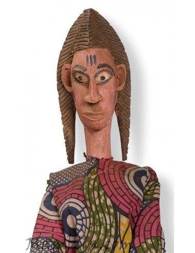 Marioneta bozo mujer F-3022