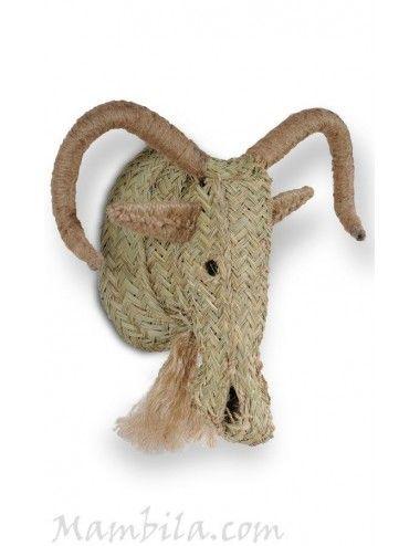 Cabeza de muflón