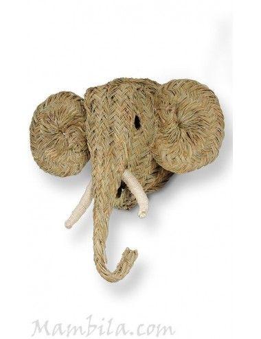 Cabeza de elefante pequeña H-1535