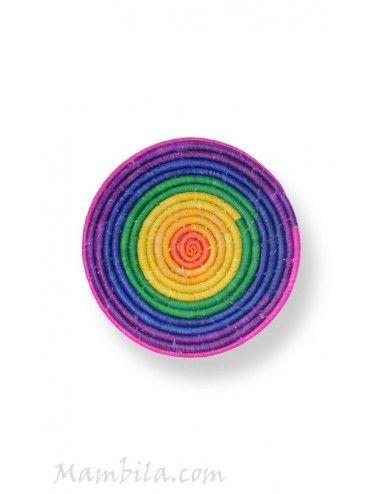 Bajoplato Rainbow med.