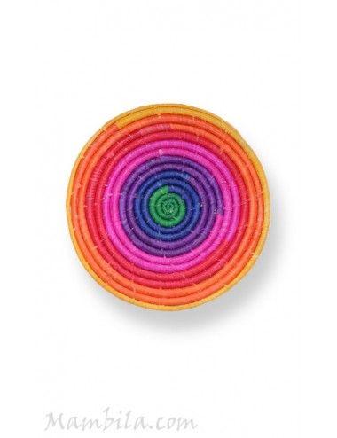 Bajoplato Rainbow hoja de palma QR-7