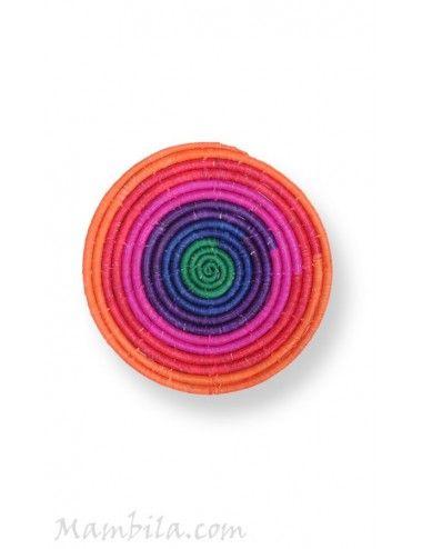 Bajoplato Rainbow hoja de palma QR-10