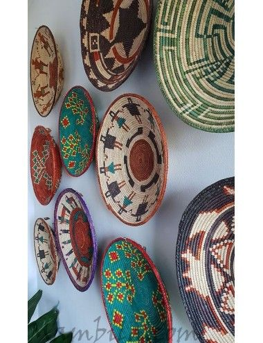 decoracion paredes platos