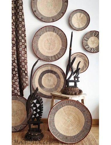 plato decorativo africano