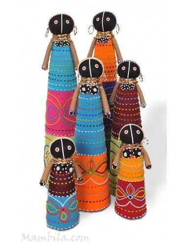 muñeca africana ndebele