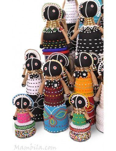 muñeca trapo africana