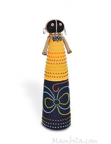 Muñeca africana tela