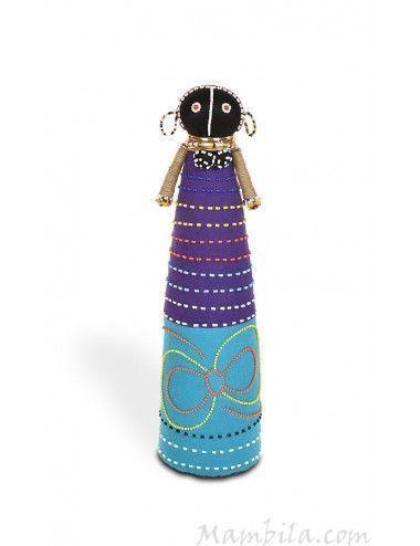 Muñeca-tela-africana