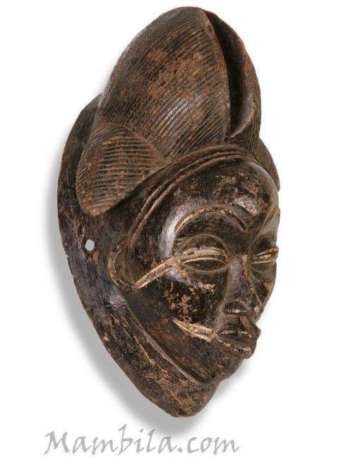 Máscara africana Punu