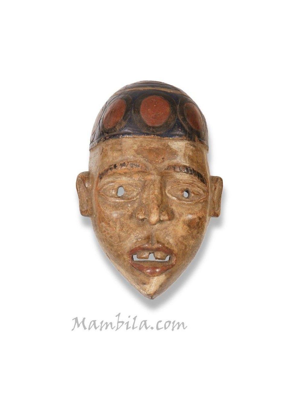 Máscara aficana Bakongo M-1275