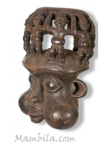 Máscaras africanas Bamun