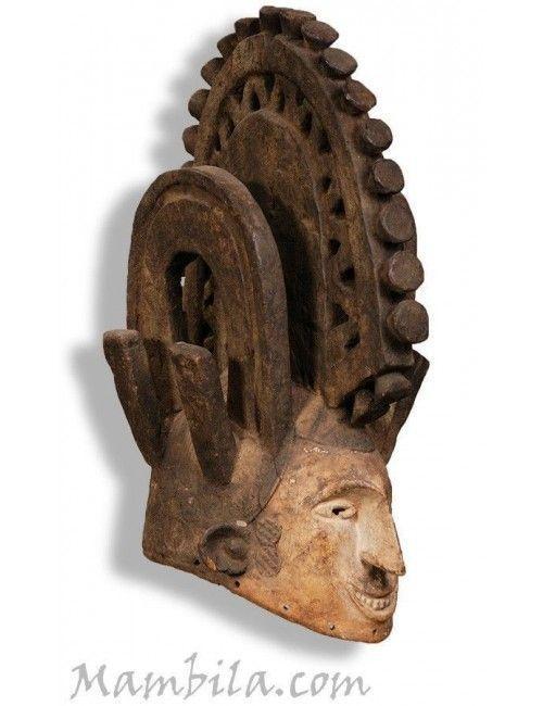 Mascara africana Igbo