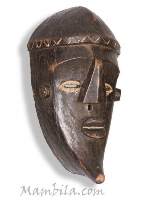 Máscara africana del congo