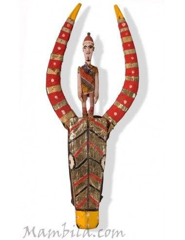 Máscara marioneta Bozo - 2103