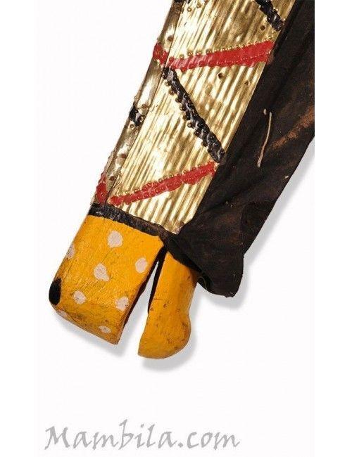 Máscara marioneta africana