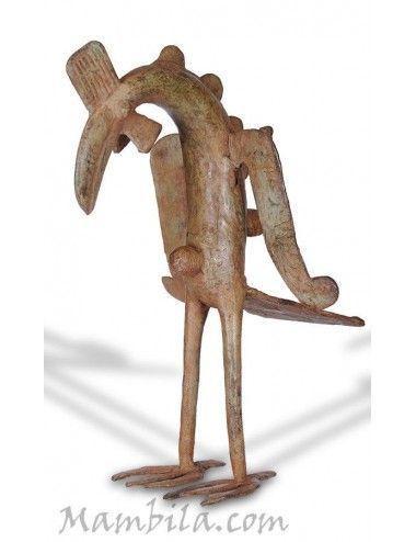 gallo dogon bronce