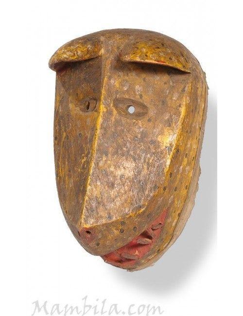 Máscara africana pantera
