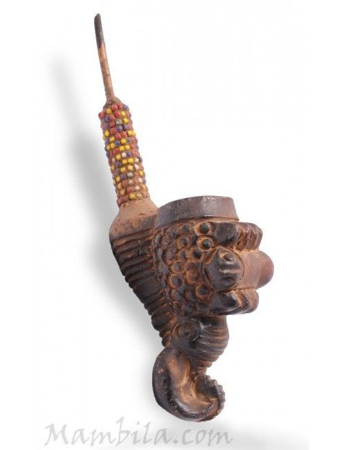 Pipa africana de barro