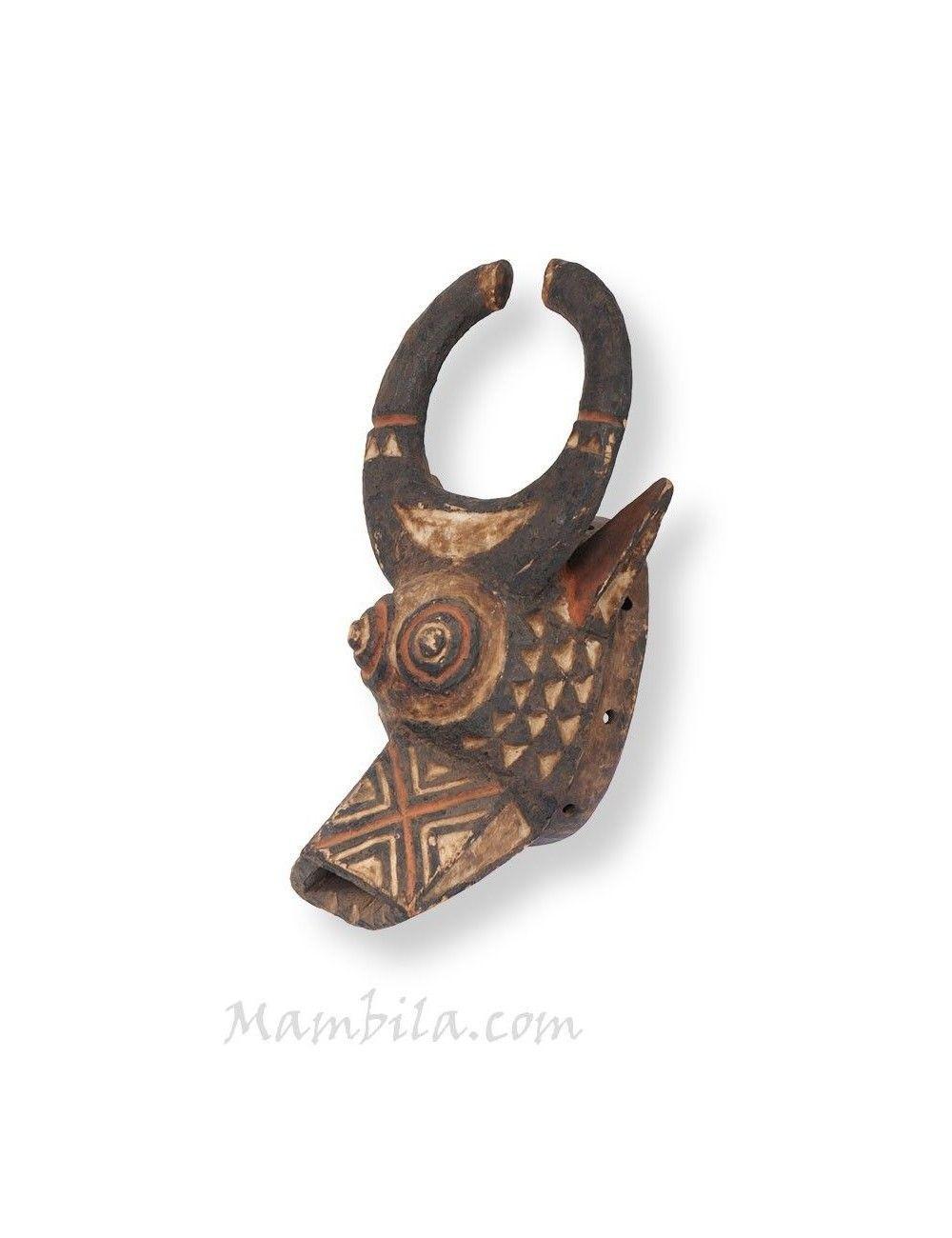 Máscara africana Bufalo